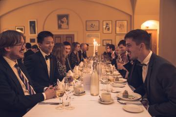 visiting students evening dinner